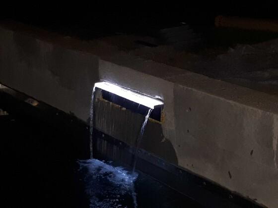 Wasserfall Niagara mit LED