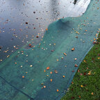 Topteich Teichnetz Randbefestigung