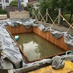 Teich fast fertig 🙄