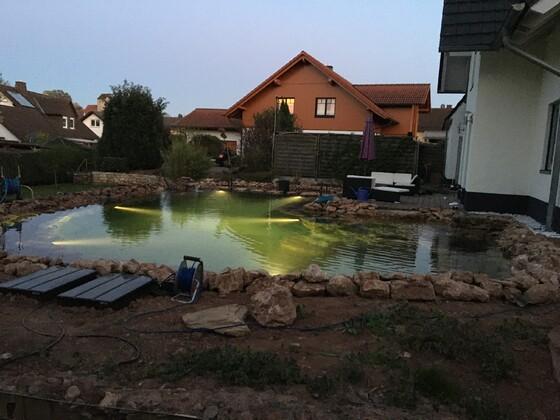 Schwimmteich 65cbm