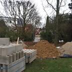 Baupause bis der Frost weg ist