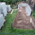 Bau Filtergraben