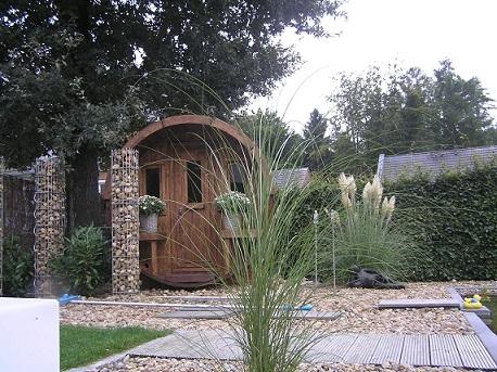 Sauna am Teich
