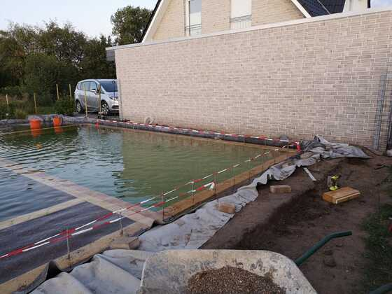 Schwimmteichbau